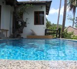 Plunge Pool and Bedroom Two