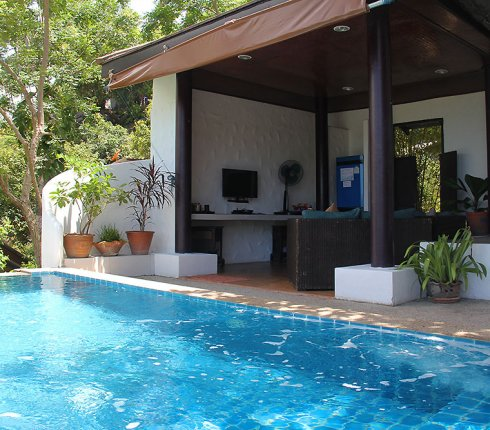 Pool and Siting Area